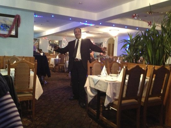 Shensha Balti and Tandoori Restaurant: A most wonderful host! Remembered the best customers back for a delicious meal!