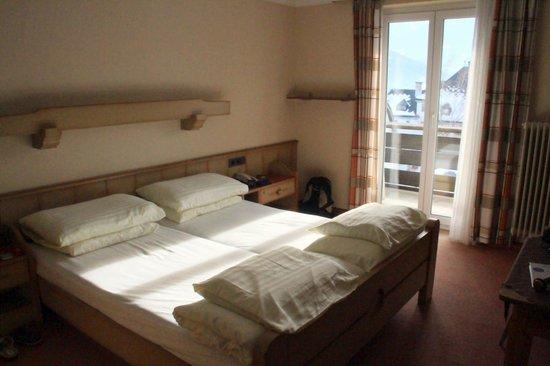 Hotel Eggerbräu: Our room on the 3rd floor