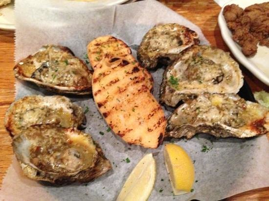 Parrain S Seafood Restaurant Chargrilled Oysters Yummy