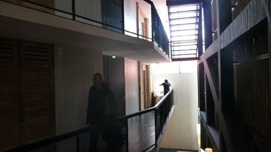 "Noi Indigo Patagonia: Vue des ""couloirs"""