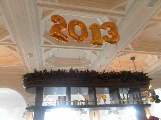 Hotel Phoenicia: Petit déjeuner le 2janvier