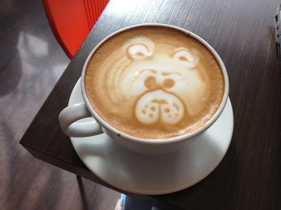 Java Coffee House: Cute bear art : )