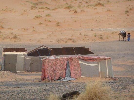 Dar el Khamlia: Beduin tent