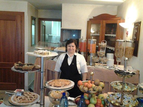 Amalfi Hotel: Ontbijten in hotel Amalfi