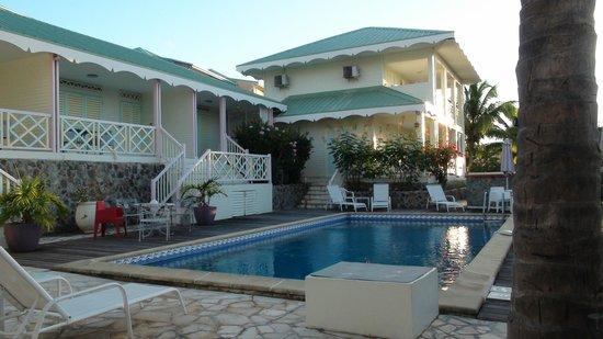 Sol Hotel:                                     Un patio idéal !