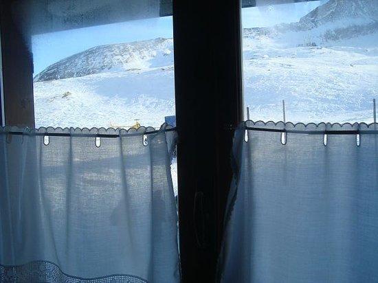 Rifugio Dondena : vista dalla camera
