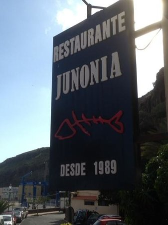 Playa de Santiago, Spain: sign