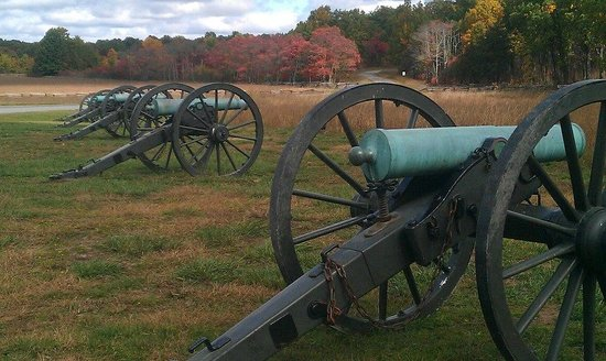 Pea Ridge National Military Park: Some of the cannons to be found