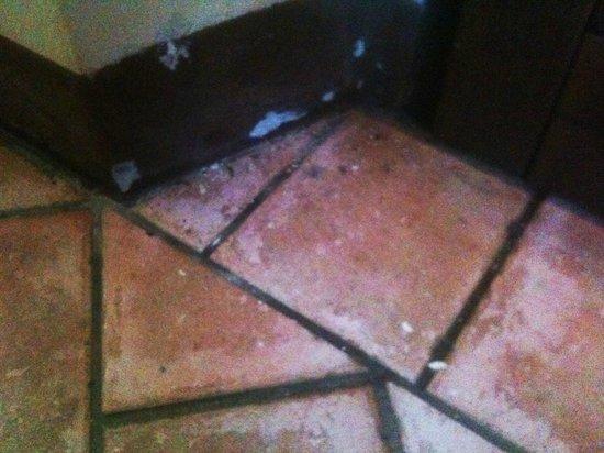 Agrihotel Il Palagetto: calcinaccio e sporco