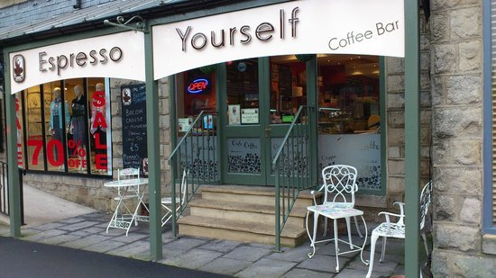 Espresso Yourself Coffee Bar: The Shop Front