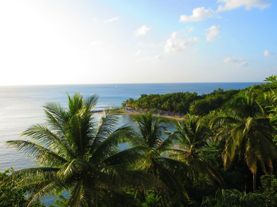 Windjammer Landing Villa Beach Resort: View from Villa