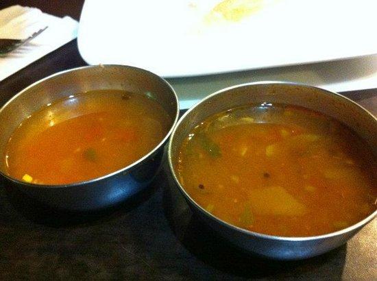 Komala's Restaurant : RASAM