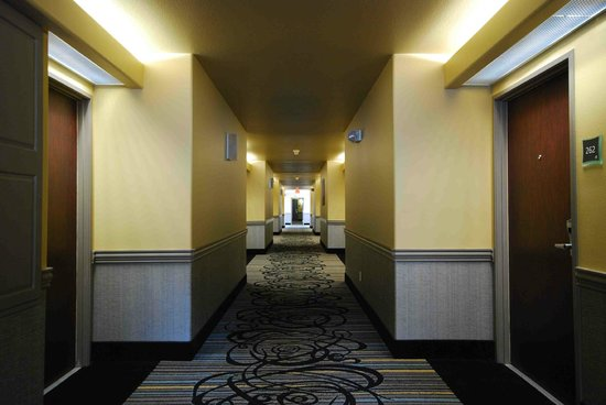 Best Western Plus Austin City Hotel: Interior Corridors