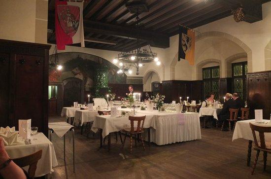 Altenburg: The dining hall.