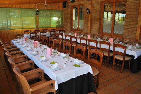 Restaurante Madre Luz: Terraza Cubierta