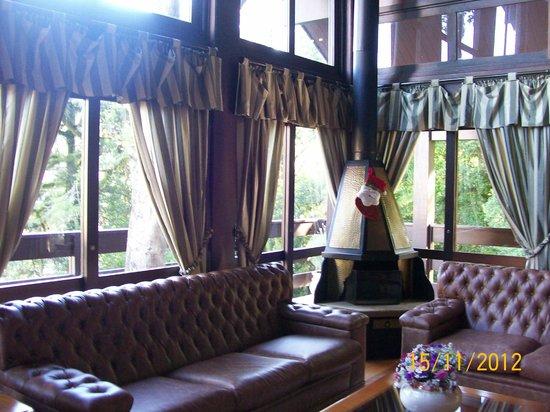 Hotel Recanto da Serra: sala de tv no hotel