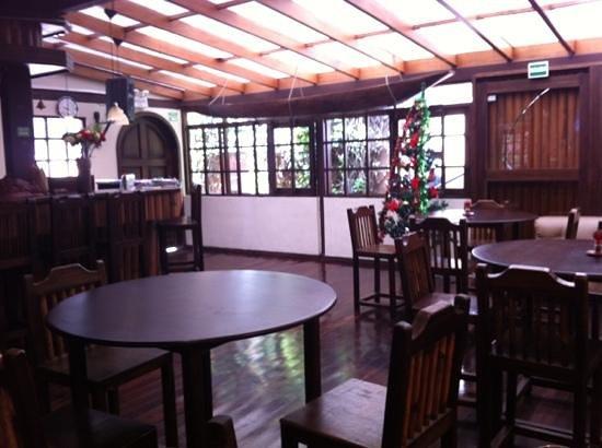 El Arupo: Frühstücksraum