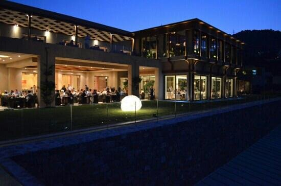 Daios Cove Luxury Resort & Villas: ristorante a buffet