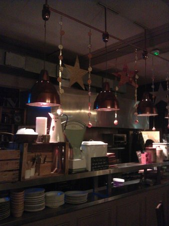 The Black Dog Freehouse: The kitchen where super food is prepared...