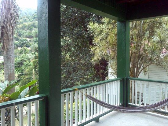 Hacienda Gripinas: balcony