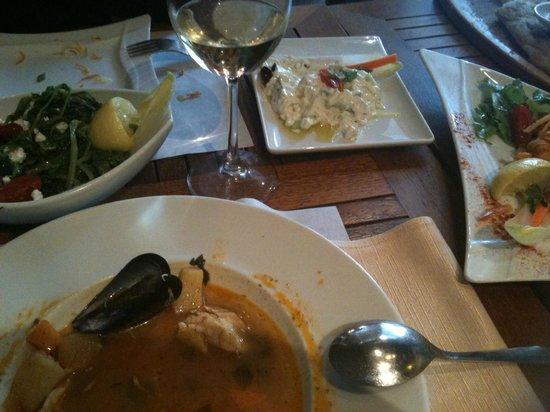 Egnatia Palace: Frutti di Mare Restaurant