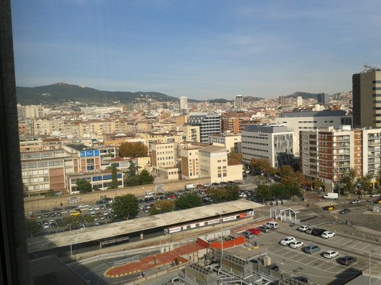 Barcelo Sants: View from 7th floor