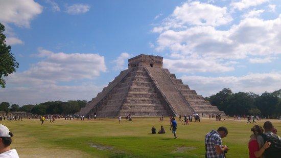 Templo ou Pirâmide de Chichén Itzá