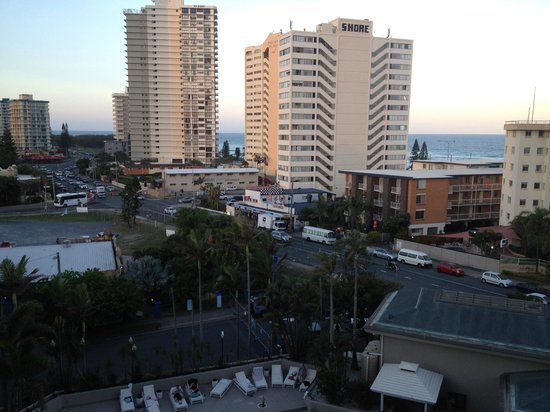QT Gold Coast: View to left from balcony
