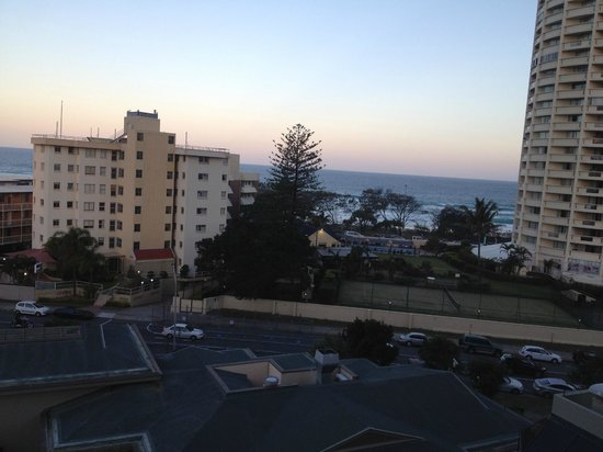 QT Gold Coast: View straight ahead from balcony