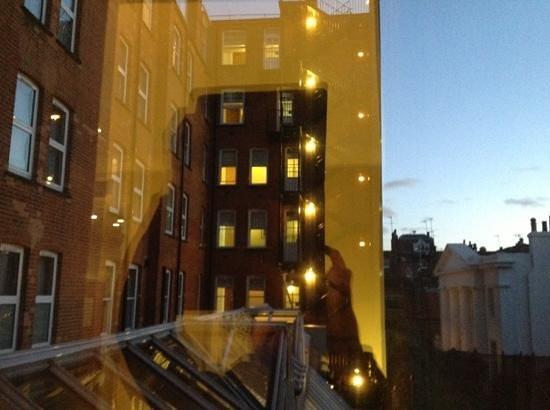 """The Rembrandt: """"vista"""" desde la habitación"""