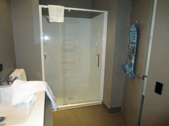 Waldorf Celestion Apartment Hotel: shower