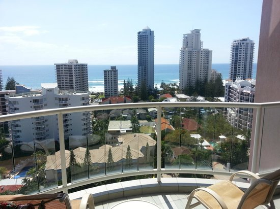 Crowne Plaza Surfers Paradise: View from the 13th Floor