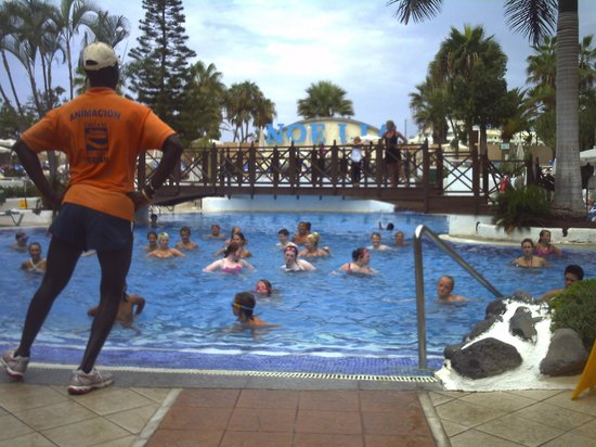 Dream Hotel Noelia Sur: great entertainment of aerobics every day