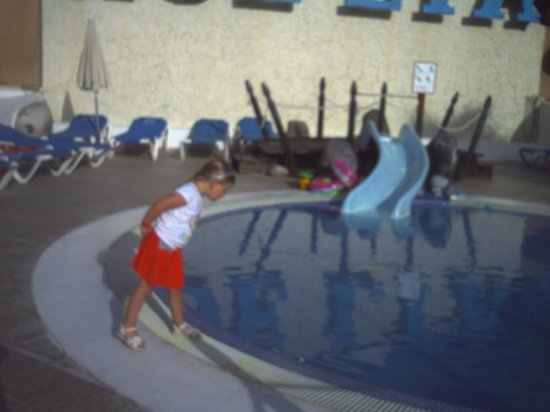 Dream Hotel Noelia Sur: kids pool at night/evening