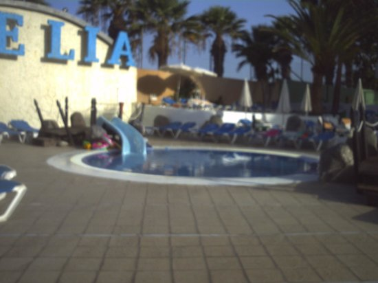 Dream Hotel Noelia Sur: kids pool in eveing
