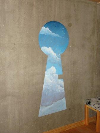 Anova Hotel & Spa : Particolare parete