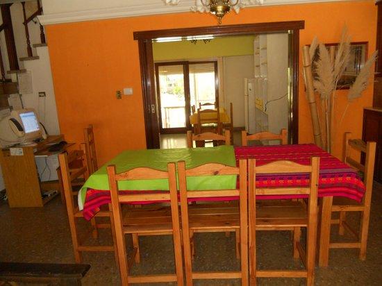 Hostel Casa de Mar: living