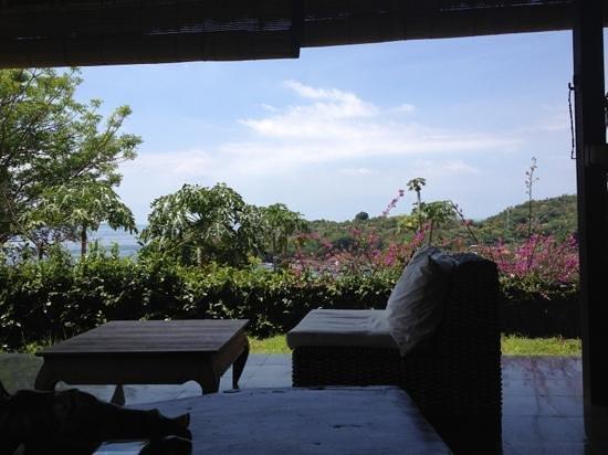 Bloo Lagoon Village: Vew from VILLA5 