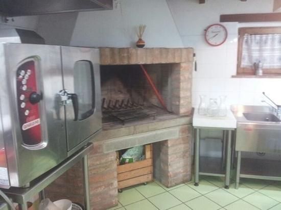 Casale Belforte: cucina