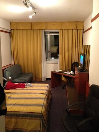 Best Western City Hotel: 206