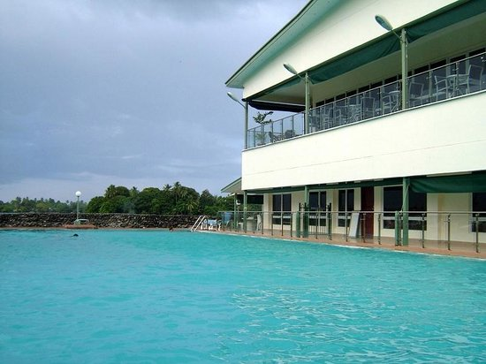 Madang Resort Hotel: One of the beautiful pools