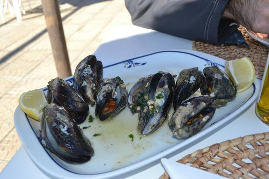 A Tasca: dolci e saporite giganti cozze pescate