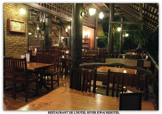 River Kwai Resotel : Le restaurant
