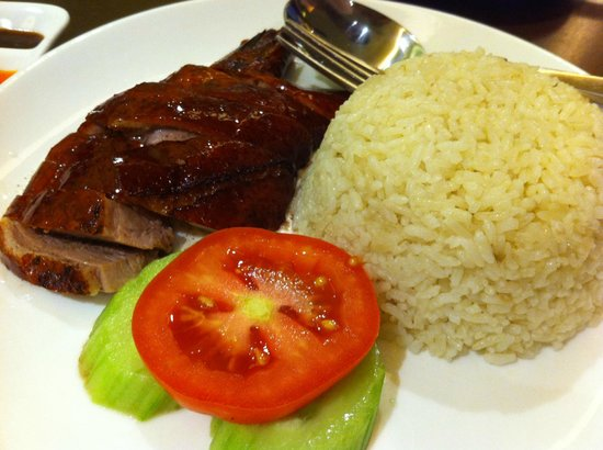 The Duck King : Duck rice