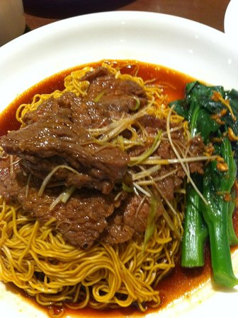 The Duck King: Beef noodles
