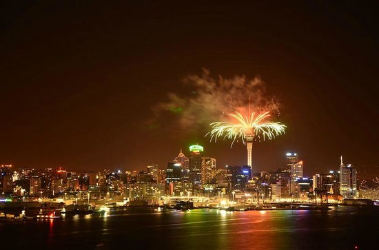 Mount Victoria Reserve: new years eve 2012/13