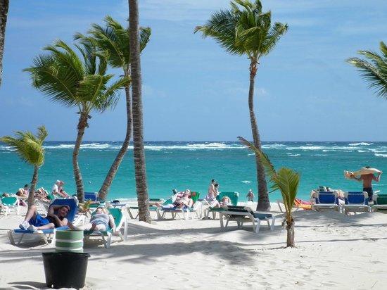 Hotel Riu Naiboa: Hermosa Playa