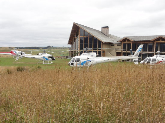 Fiordland Lodge: Scenic Flights