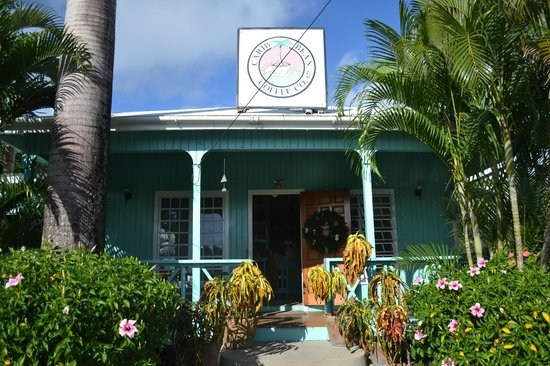 Falmouth, Antigua: Carib Bean Coffee Co
