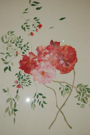 Les Asphodèles : A Corinne de Royer watercolor